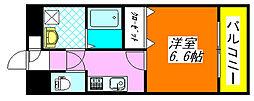 グランシス・高井田 305号室[3階]の間取り