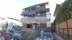 大阪府堺市北区黒土町の賃貸アパートの外観