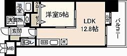 MK・河井ビルII[8階]の間取り