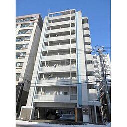 北海道札幌市豊平区平岸五条7丁目の賃貸マンションの外観