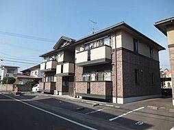 愛媛県松山市小栗6丁目の賃貸アパートの外観