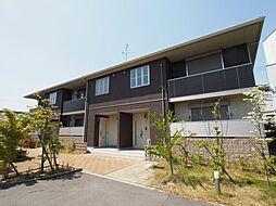 大阪府堺市美原区小平尾の賃貸アパートの外観