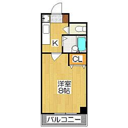 シェモア小川[305号室]の間取り