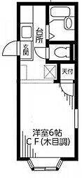 ストーク新城[2階]の間取り