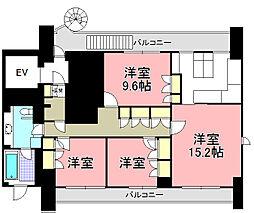 アシスト第2ビル[9F号室]の間取り