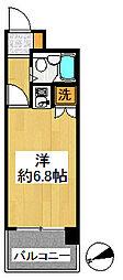 ヴェラハイツ鶴見[9階]の間取り
