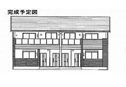 岡山県岡山市中区中井1丁目の賃貸アパートの外観