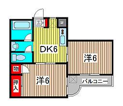 スイングマンション[4階]の間取り
