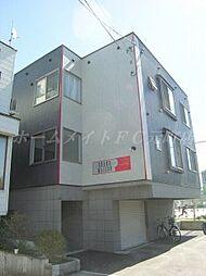北海道札幌市東区北十四条東9丁目の賃貸アパートの外観