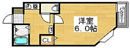 メゾンサイプレスII[2階]の間取り