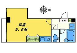 アネックスIIキムラ[201号室]の間取り