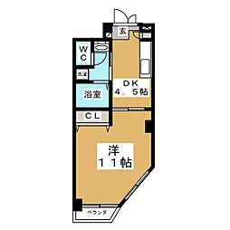 第1ジーオンビル[2階]の間取り
