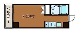 デサンス・フチノベ[2階]の間取り