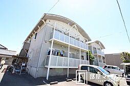 愛知県豊田市青木町2丁目の賃貸アパートの外観