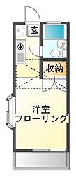 ロワール実籾[2階]の間取り