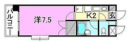サンピア清水町[301 号室号室]の間取り