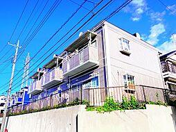 東京都練馬区大泉町2丁目の賃貸アパートの外観