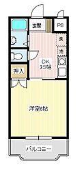 リヴィエール三河(Riviere Mikawa)[303号室]の間取り