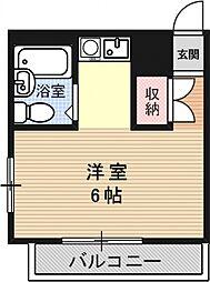 ブランドールハウス[301号室号室]の間取り