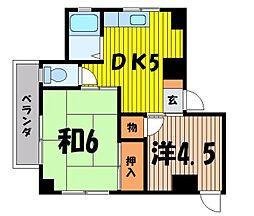 田中ビル[3階]の間取り