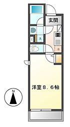 コージー大曽根(COZY[4階]の間取り