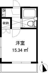 スリージェ桜ヶ丘II[104号室]の間取り