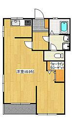 泉ヶ丘2丁目マンション[3階]の間取り