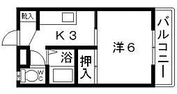ネオシティ青山[105号室号室]の間取り