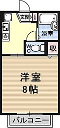 セジュールレイク[105号室号室]の間取り