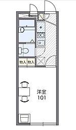 ブラッサム鎌倉[1階]の間取り