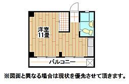15番ハイツ[2階]の間取り