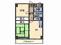 ODNIZ66[9階]の間取り
