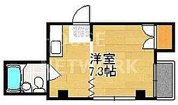 メゾン紫野[402号室号室]の間取り