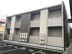 愛知県津島市東中地町1丁目の賃貸アパートの外観