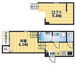 Maison Plum[1階]の間取り