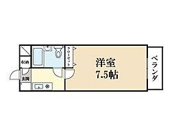 チャペルハイムタナベ[2階]の間取り