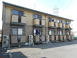 埼玉県川越市広栄町の賃貸アパートの外観