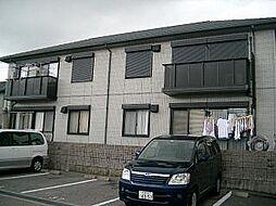 高知県高知市中秦泉寺の賃貸アパートの外観