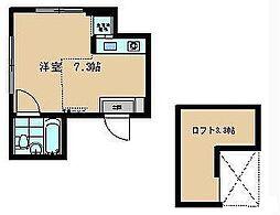 DIMORA横須賀中央[101号室]の間取り