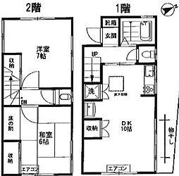 [一戸建] 東京都板橋区板橋4丁目 の賃貸【/】の間取り