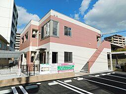 福岡県北九州市八幡東区昭和2丁目の賃貸アパートの外観