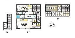 兵庫県姫路市西駅前町の賃貸アパートの間取り