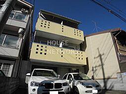 京都府京都市上京区裏築地町の賃貸マンションの外観