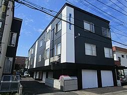 北海道札幌市東区北二十条東5丁目の賃貸アパートの外観