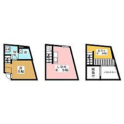 [テラスハウス] 宮城県仙台市青葉区青葉町 の賃貸【/】の間取り