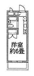 ラジオン連光寺[201号室]の間取り