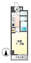 リビエ亀島[2階]の間取り