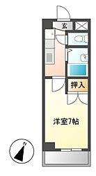 シャンポール大針[2階]の間取り