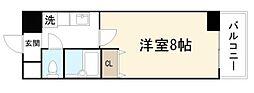 グラン・ドゥ・ルイ 高井田5分[8階]の間取り