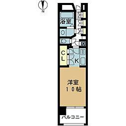 PIER624[7階]の間取り